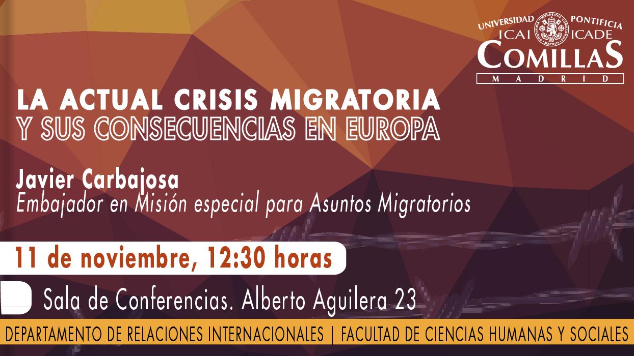 La actual crisis migratoria