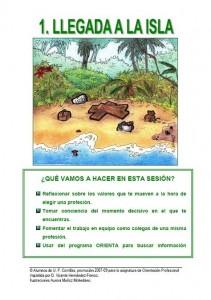 Sesión 1- Llegada a la Isla