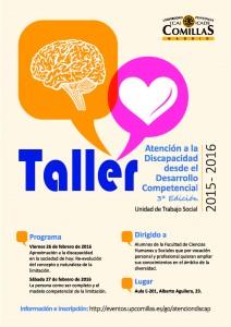 taller atencion a la discapacidad desde el desarrollo competencial