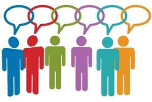 dialogo entre personas diferentes